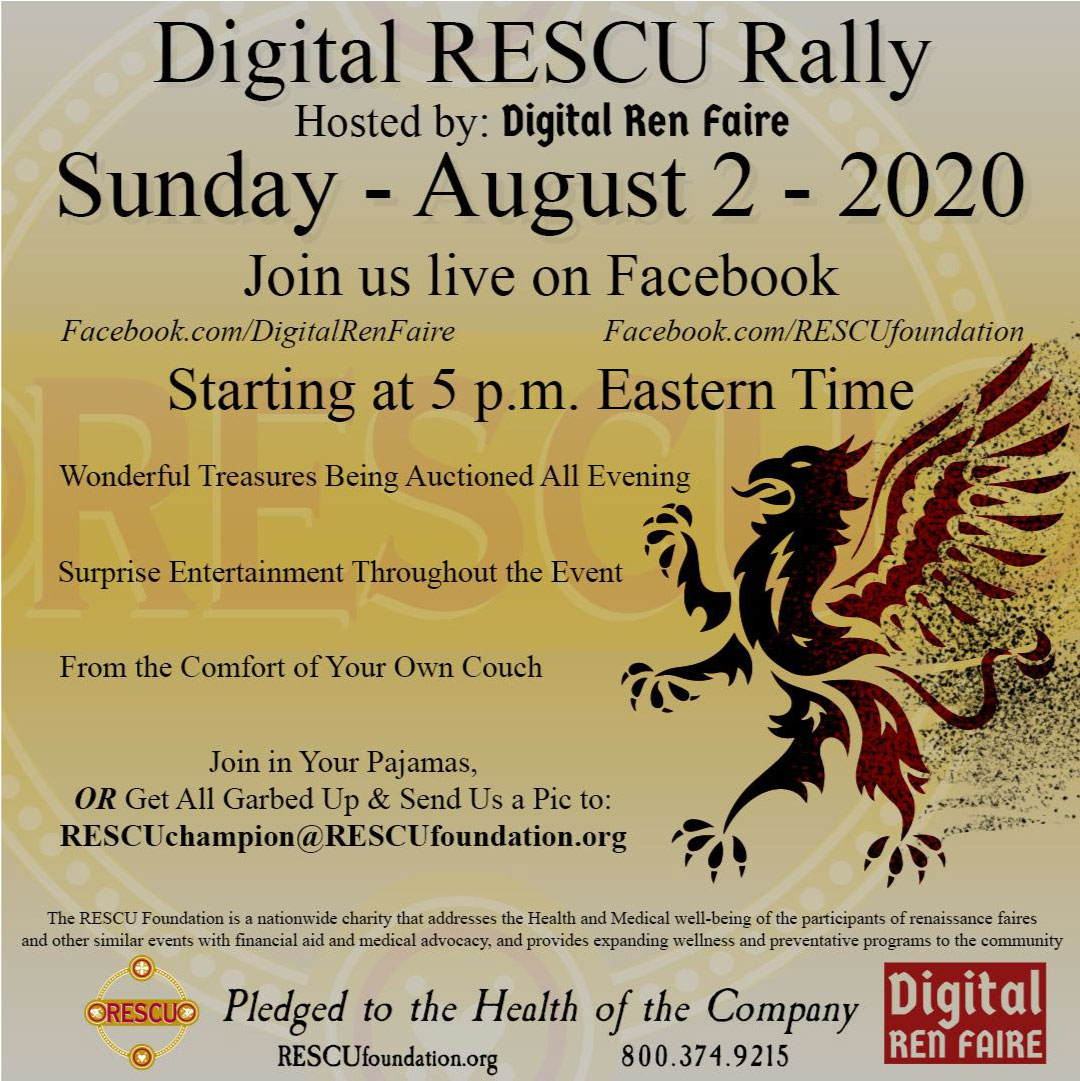 August 2 2020 Digital RESCU Rally